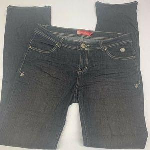 Apple Bottoms Boot Cut Jeans Womens 9/10 Stretch B